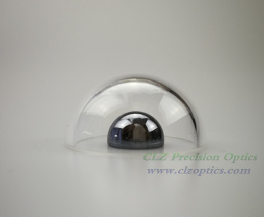 Optical Dome, 28mm diameter, 1.5mm thick, 14mm height, N-BK7 or equivalent type Dome Windows