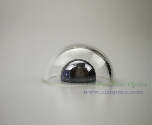 Optical Dome, 24mm diameter, 2mm thick, 13mm height, N-BK7 or equivalent type Dome Windows